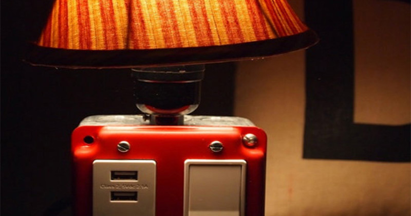outlet table lamp