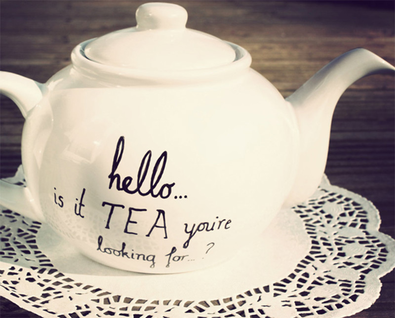teapot handdrawn lionel richie customized