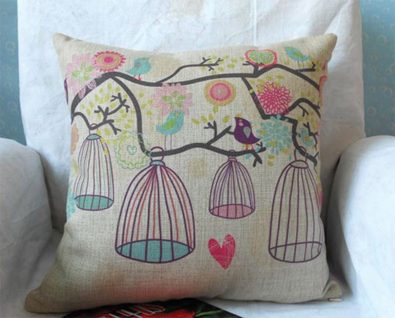 Bird Themed Throw Pillows : Cute Decorative Throw Pillows For Your Home - Full Home Living