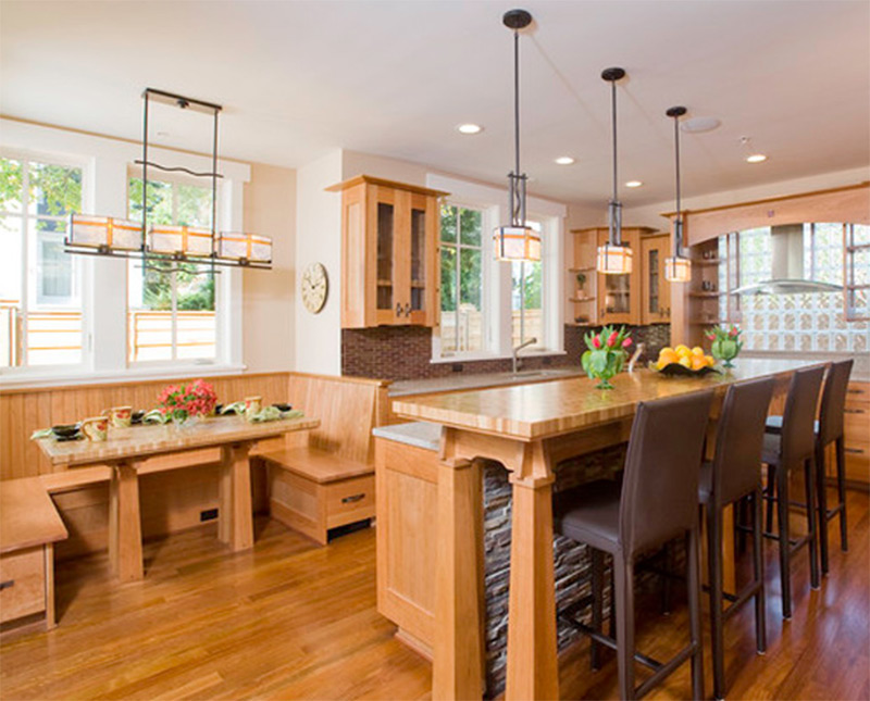 Interior photos of kitchens and breakfast nooks full Breakfast nook bar ideas