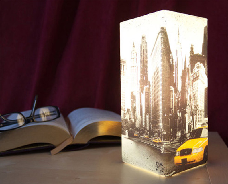 contemporary table lamp new york city lampshade design