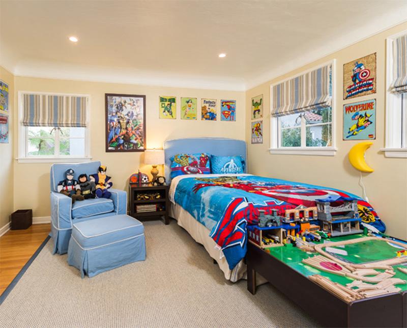 superheroes - Bedroom Showcase Designs
