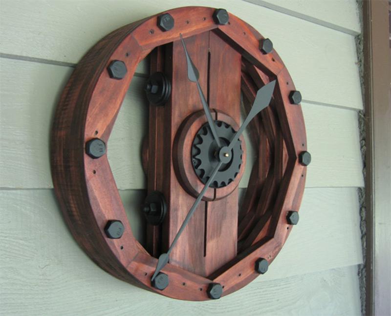 industrial wheel old upcycled vintage