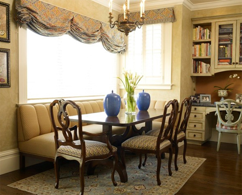 san francisco breakfast room table chandelier