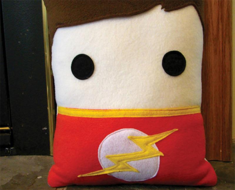 sheldon cooper big bang theory pillow