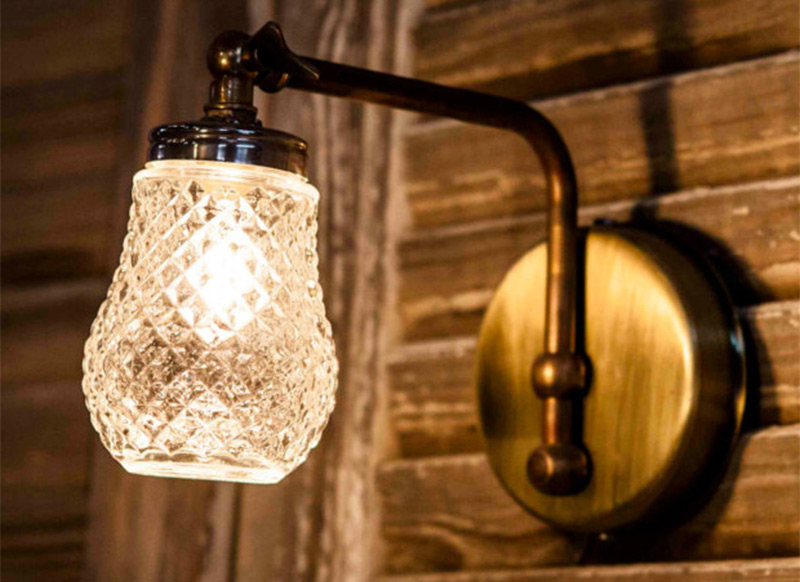 hanging wall lamp recycled sugar container