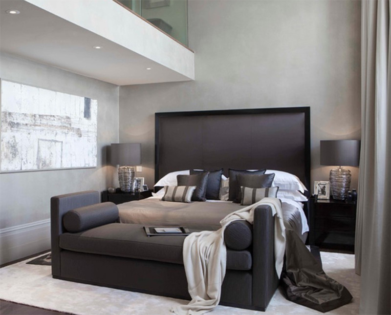 Lovely Bedroom Interiors With Sofas And Couches Full