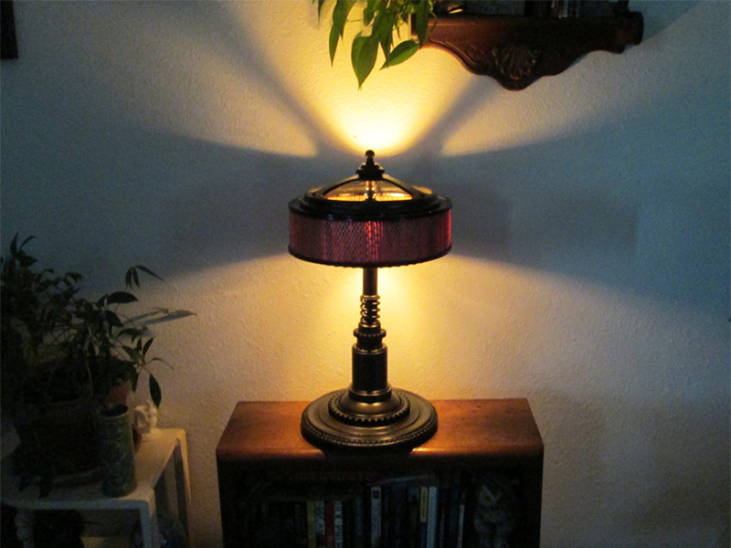 vintage edison bulb table lamp steampunk