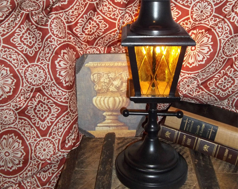 table lamp post town streetlight etsy