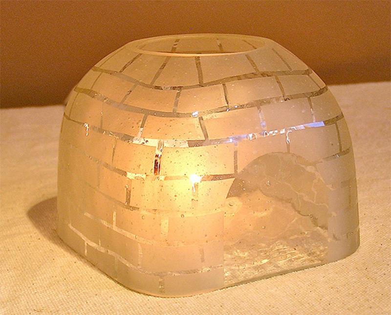 custom handmade table lamp igloo etsy product small