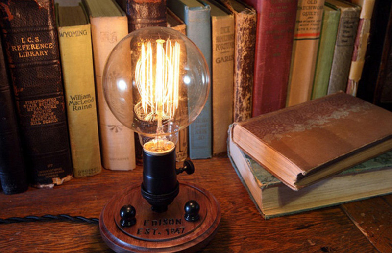 edison light lamp