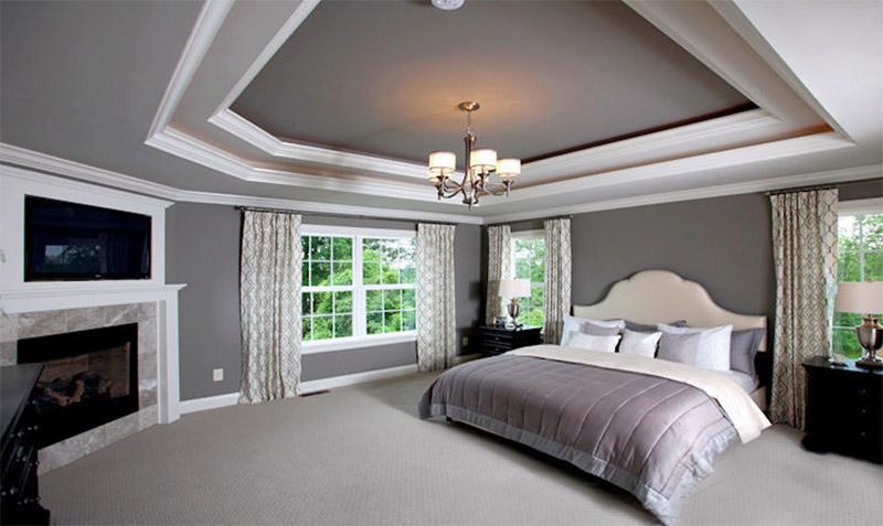 interior home decor master bedroom colorful spacious fantasy