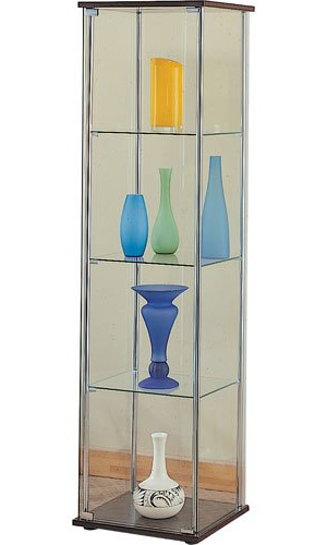 contemporary glass curio