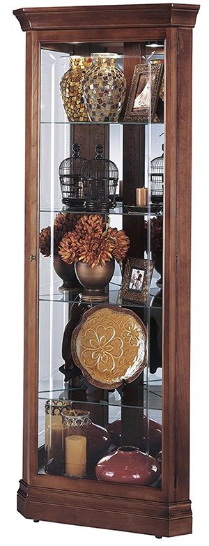lynwood corner curio cabinet