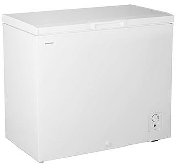 hisense chest freezer
