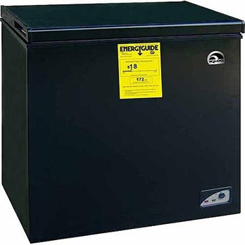 igloo f4f454b black freezer