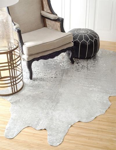genuine devour cowhide rug