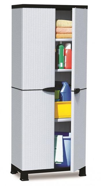 Impressive Plastic Storage Cabinet With Doors Decoration