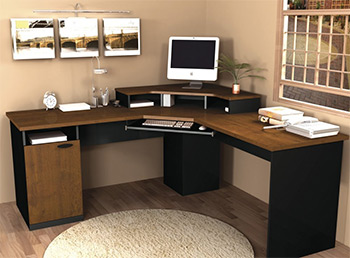 hampton corner desk
