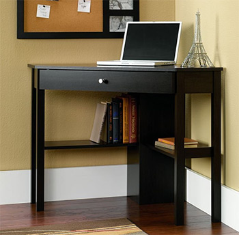 sauder beginnings corner desk