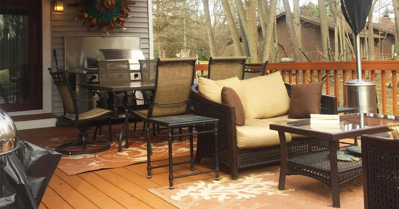 deck patio design books