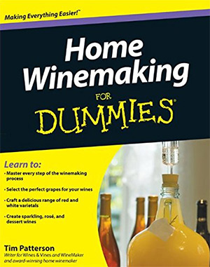 winemaking for dummies