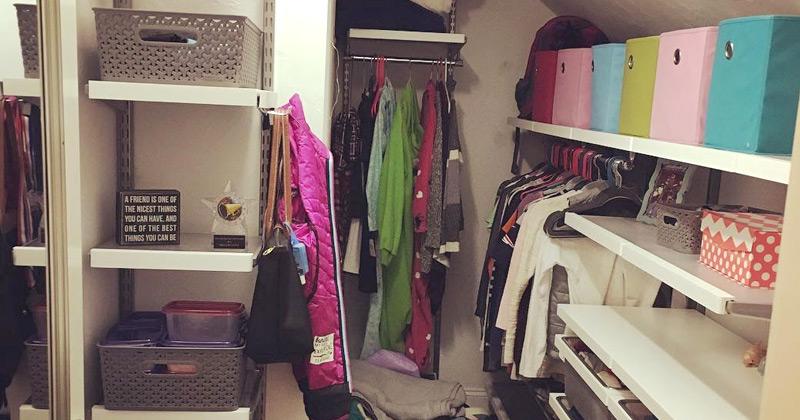 closet organization books