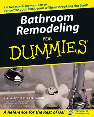 bathroom remodeling dummies book