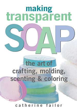 transparent soap book