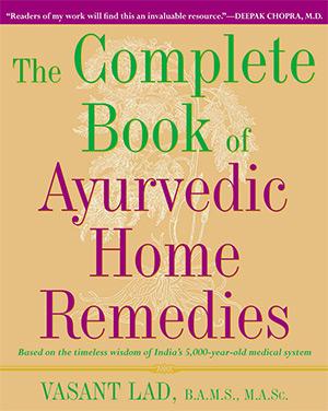complete book ayurvedic remedies