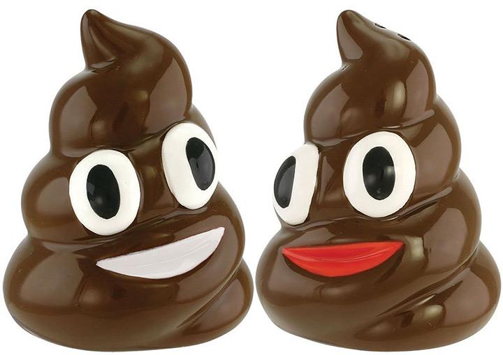 emoji poop shakers