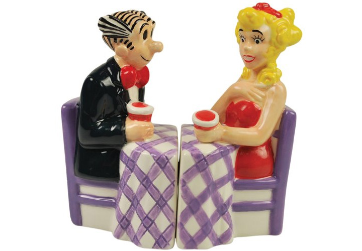 blondie dagwood salt pepper