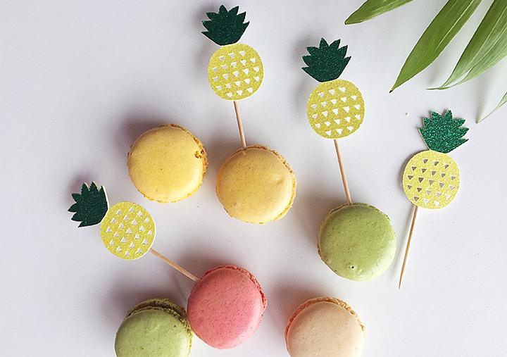 fruity cucake toppers