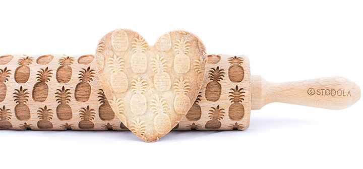pineapple rolling pin shapes