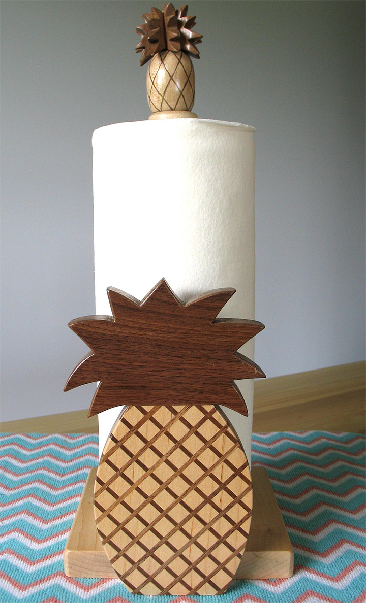 pineapple paper towel holders