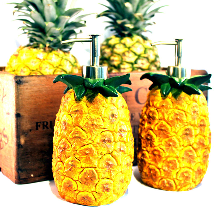 pineapple soap dispenser