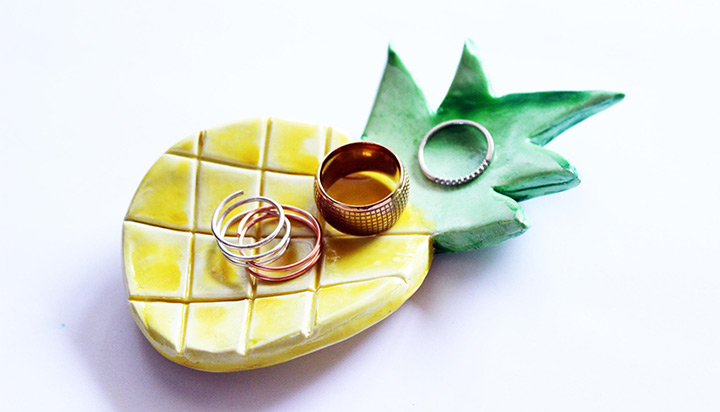pineapple ring dish