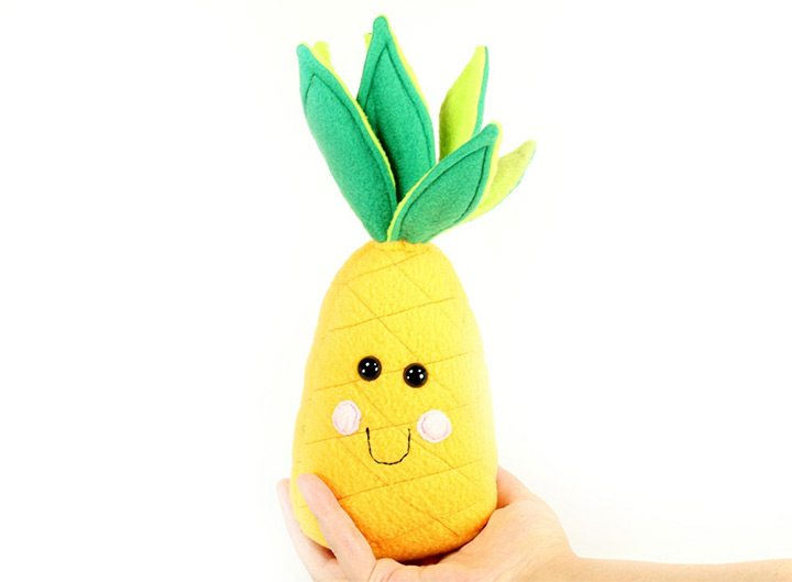 pineapple plushes