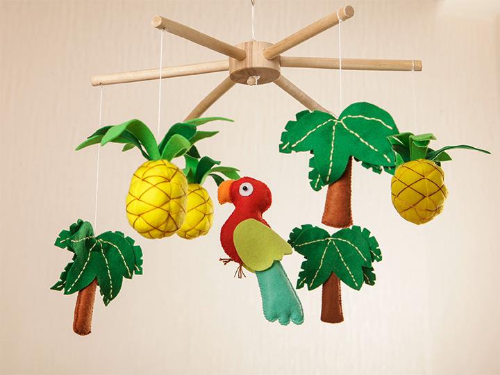 pineapple mobiles