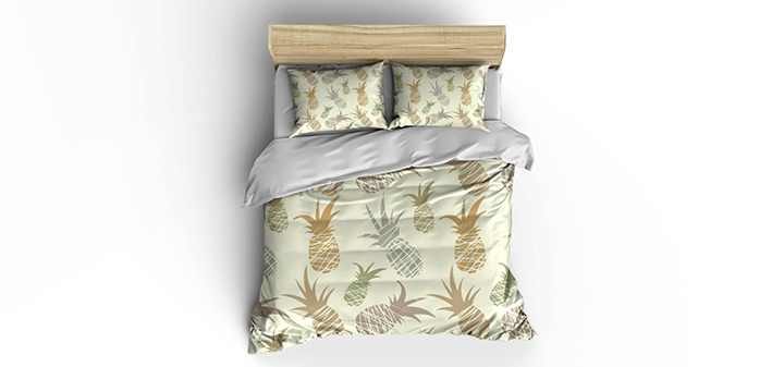 pineapple duvet covers