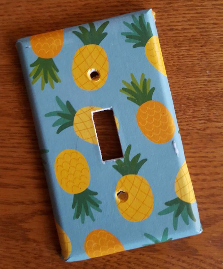 pineapple lightswitch