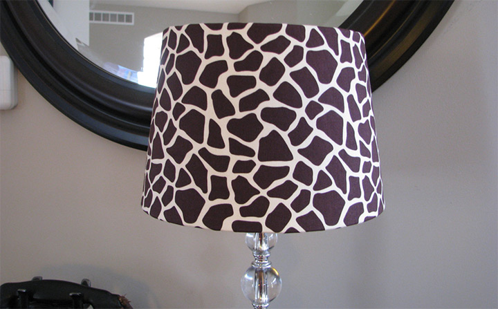 giraffe lamp shades