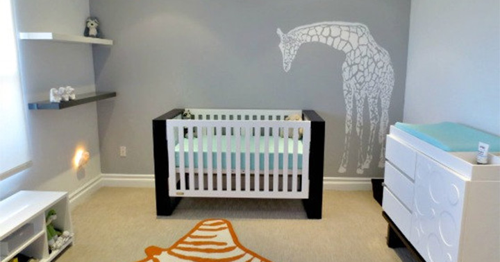 wall decals of giraffes