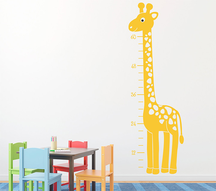 growth charts giraffes