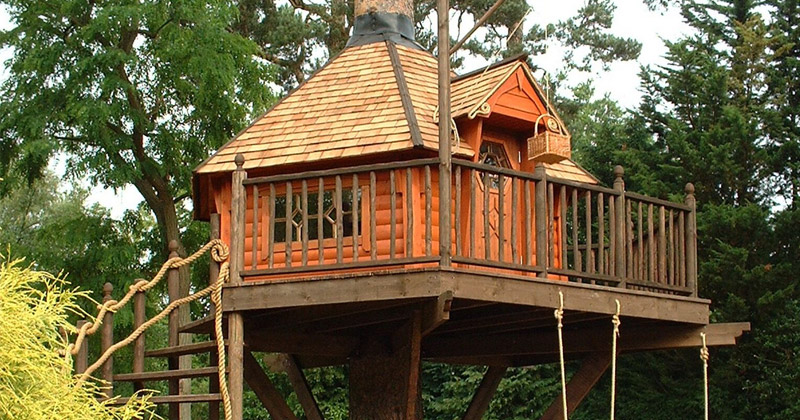 featured treehouse design