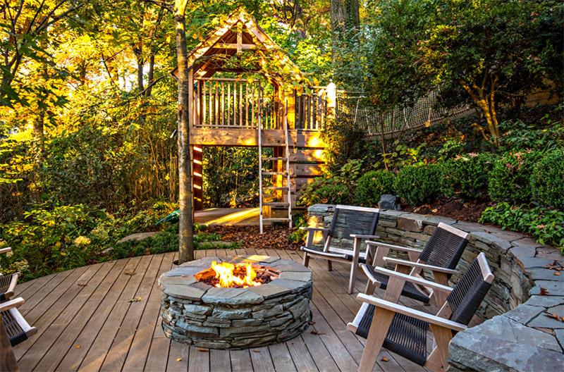 dc backyard play treehouse