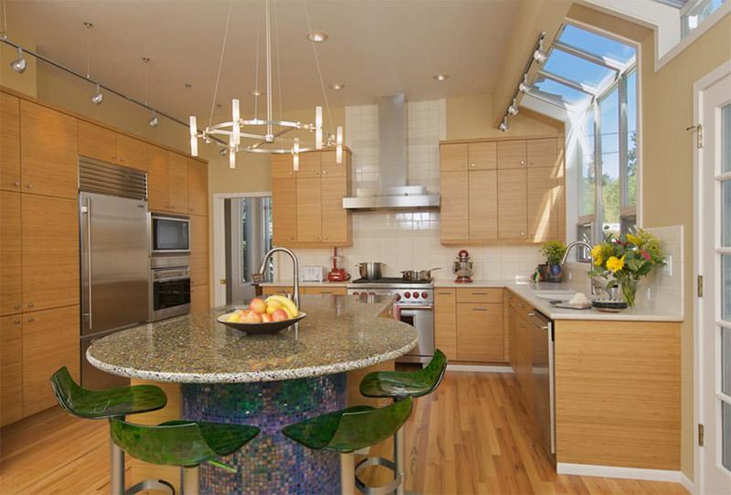 ellentuck kitchen interior contemporary rounded island