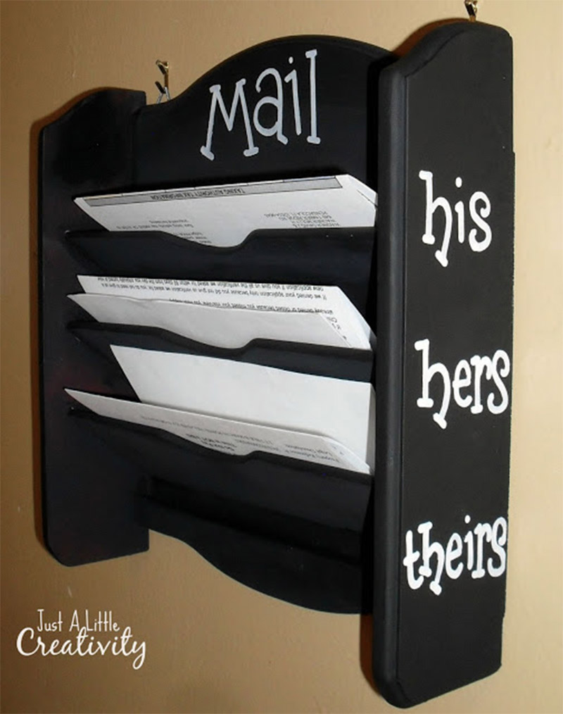 his hers mail organizer