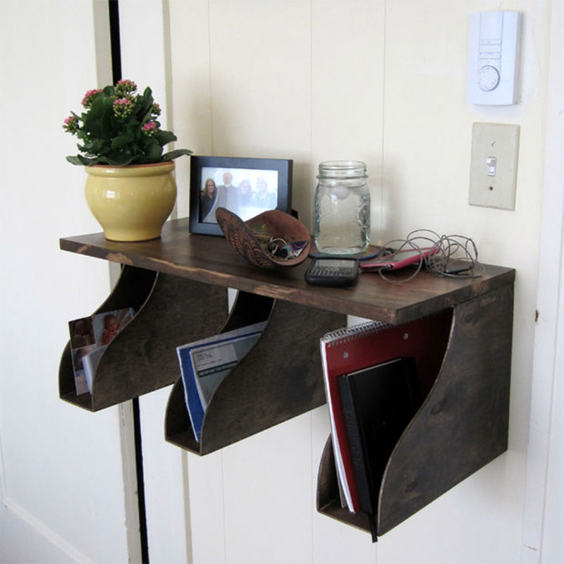wall organizer diy holder