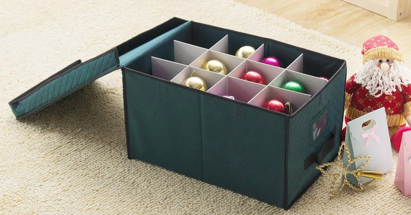ornament storage box design